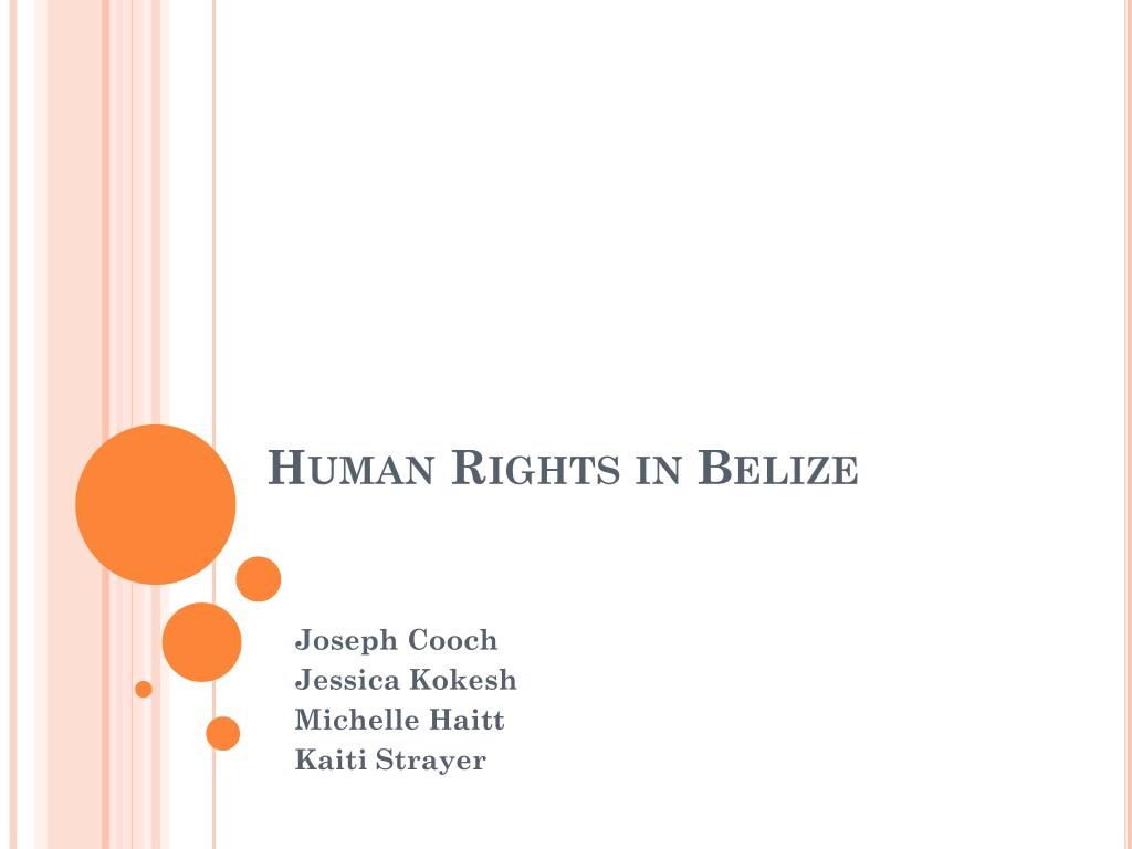 Human Rights in Belize