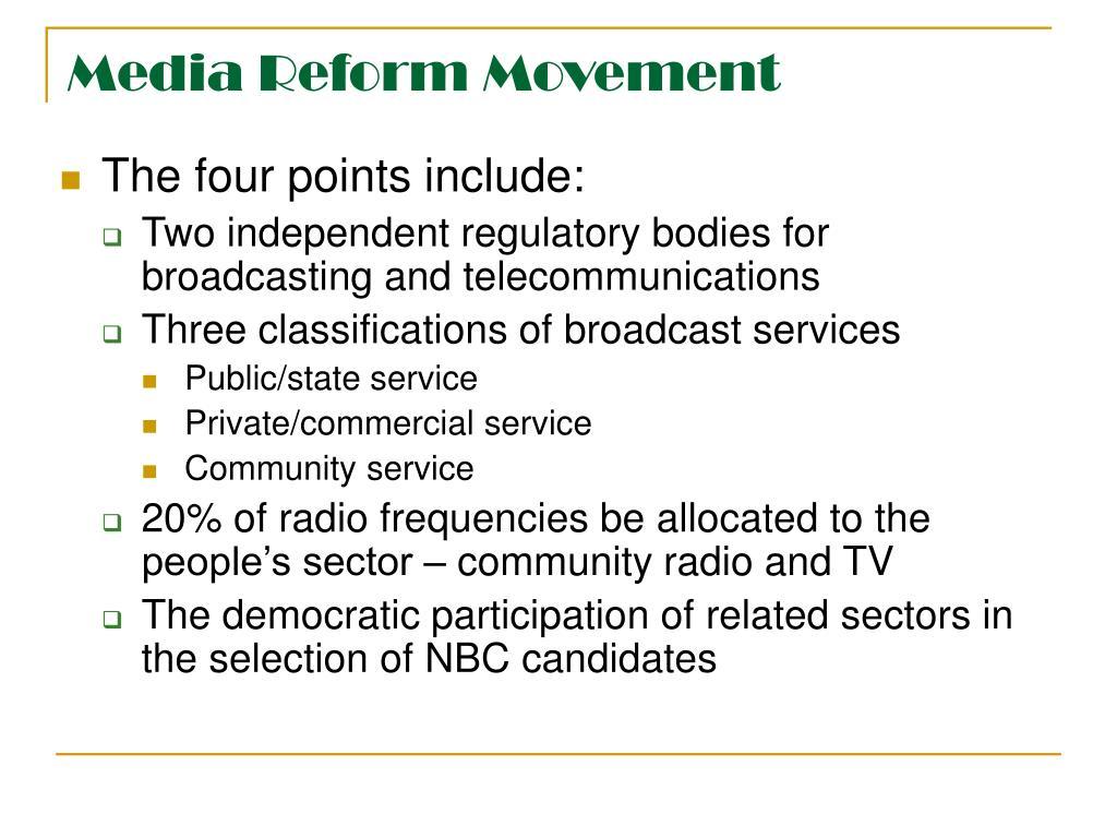 Media Reform Movement