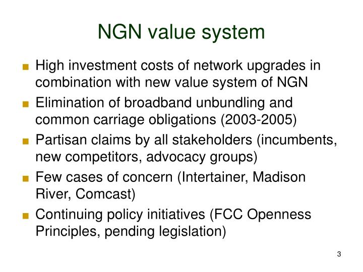 Ngn value system