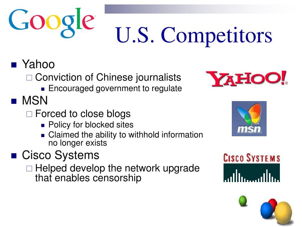 U.S. Competitors