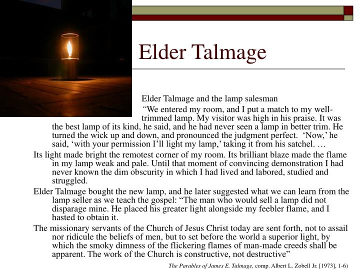 Elder Talmage