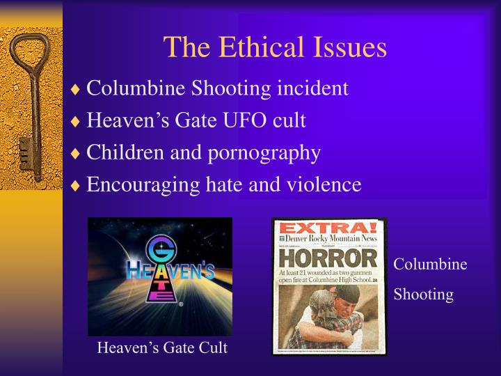 The ethical issues