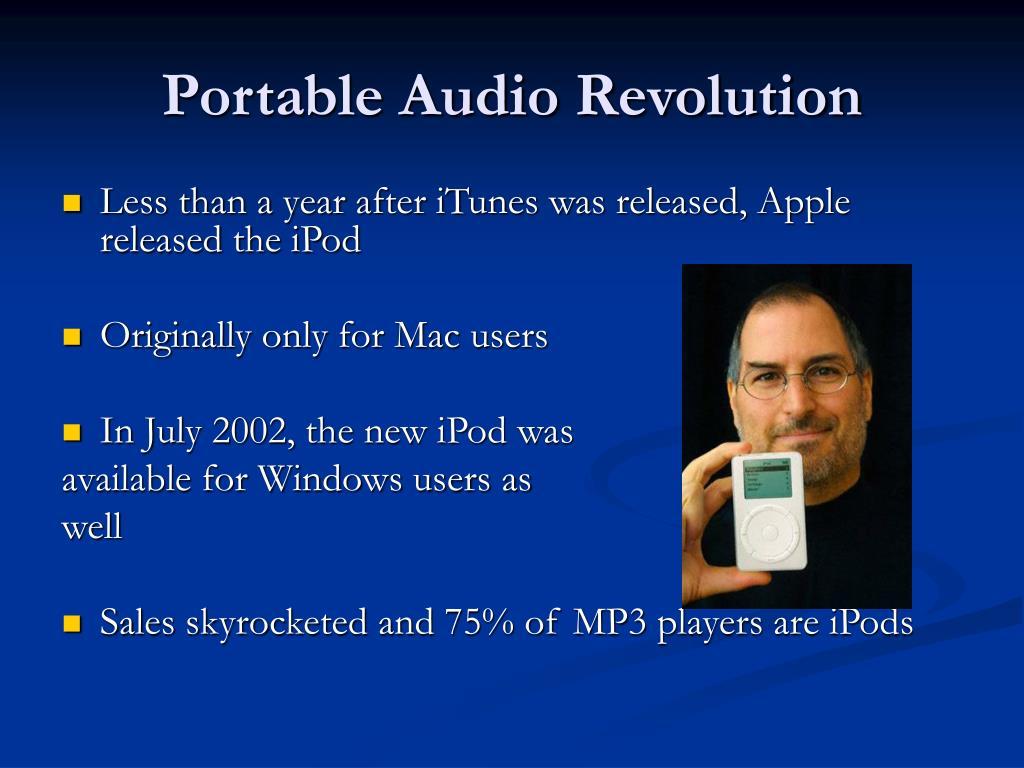 Portable Audio Revolution