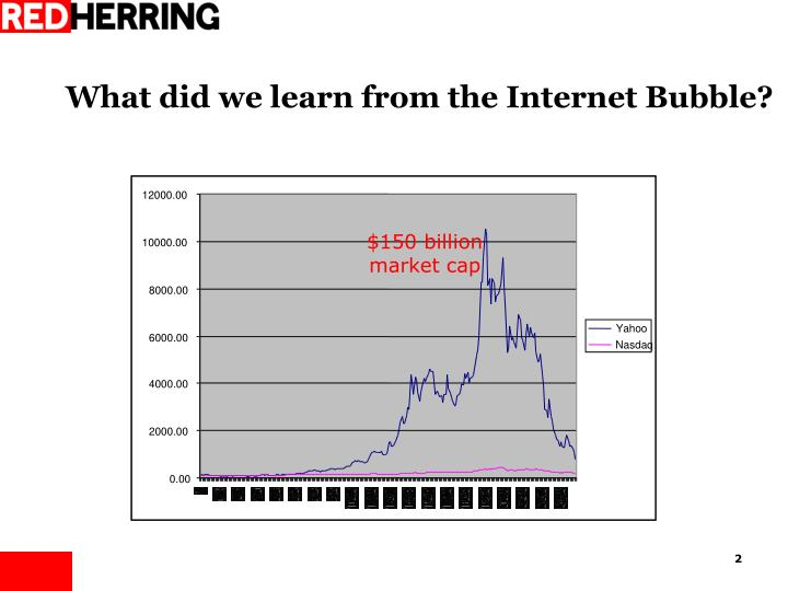 What did we learn from the internet bubble