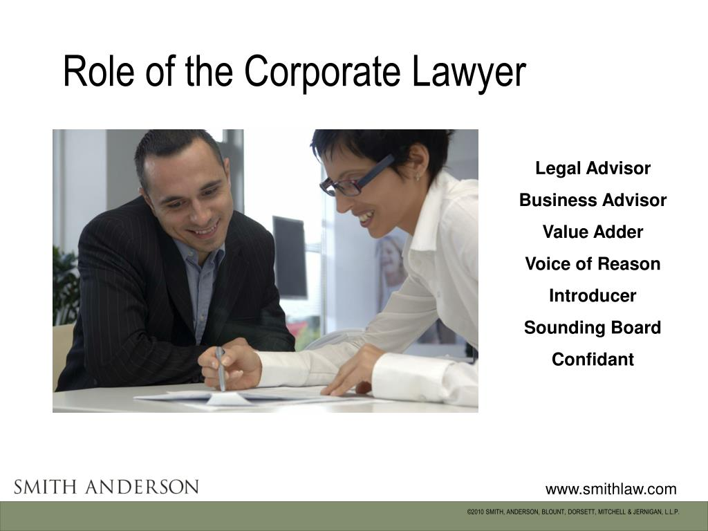 Role of the Corporate Lawyer