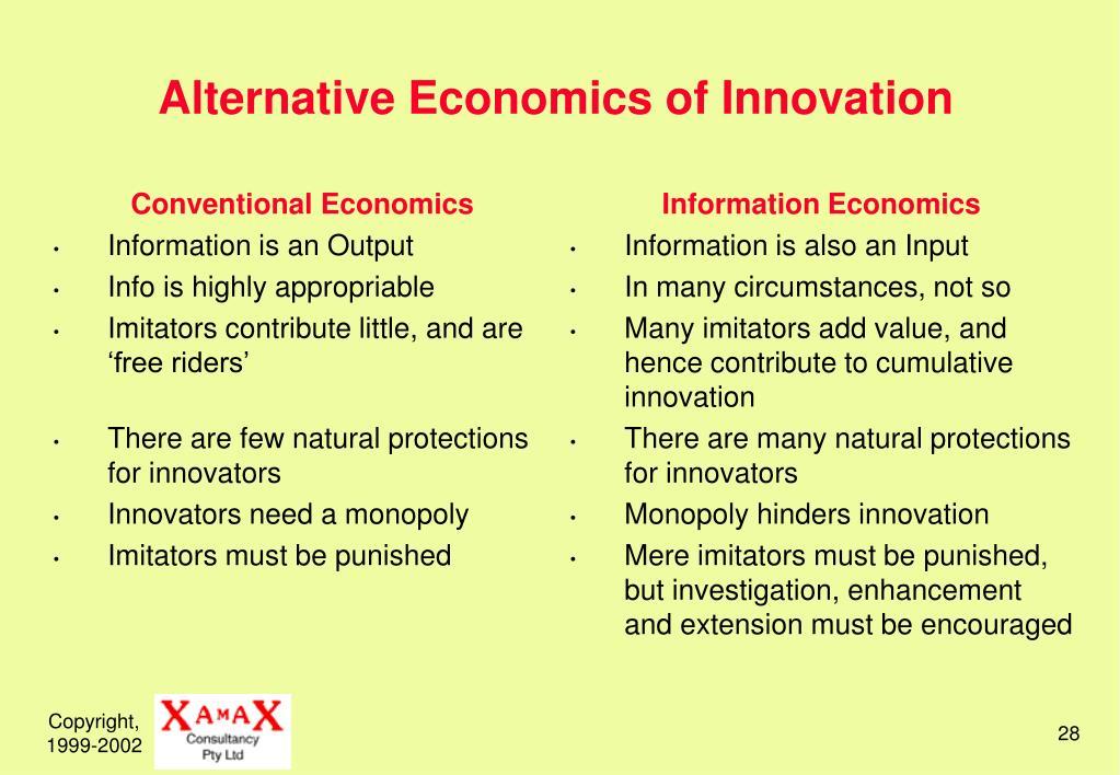 Conventional Economics