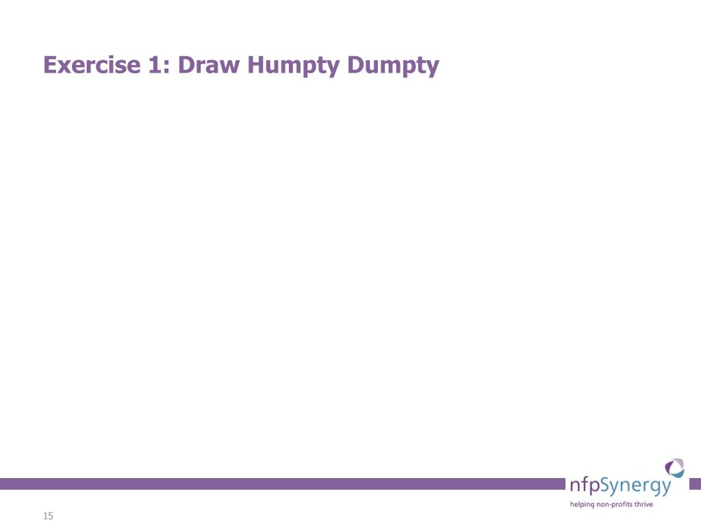 Exercise 1: Draw Humpty Dumpty