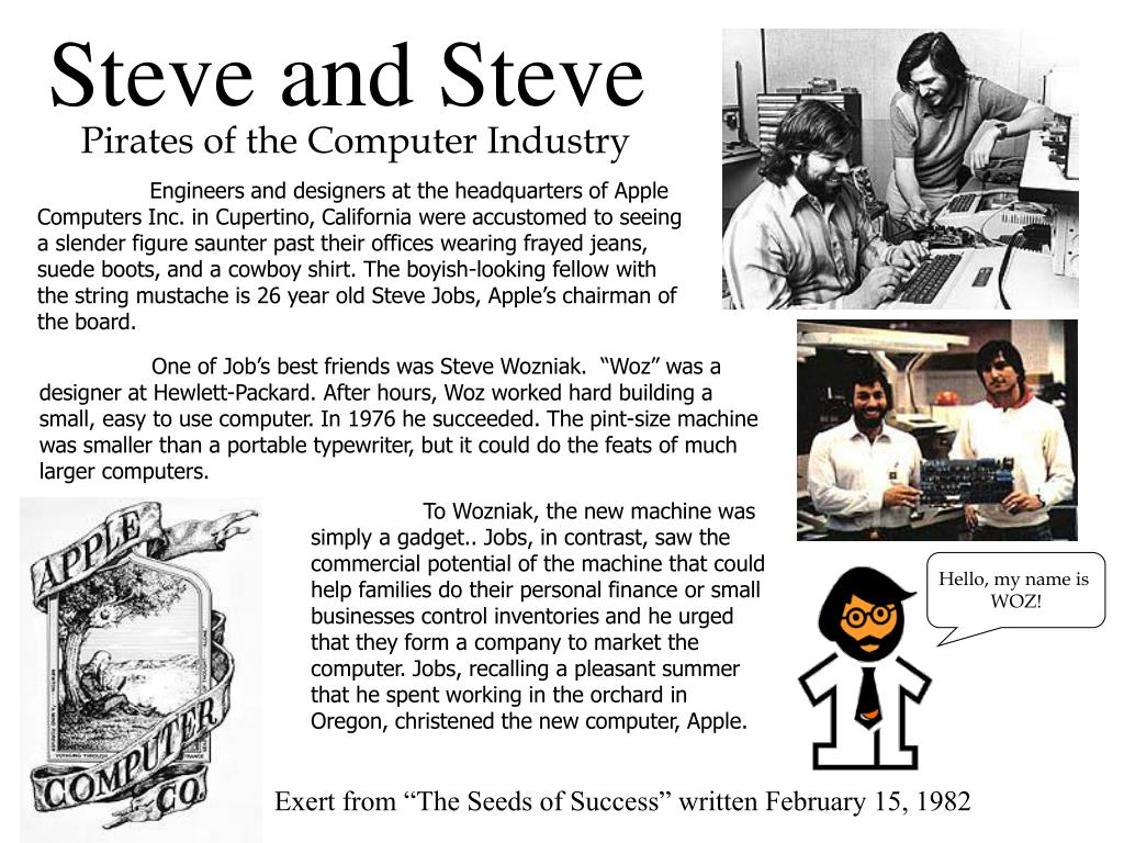 Steve and Steve