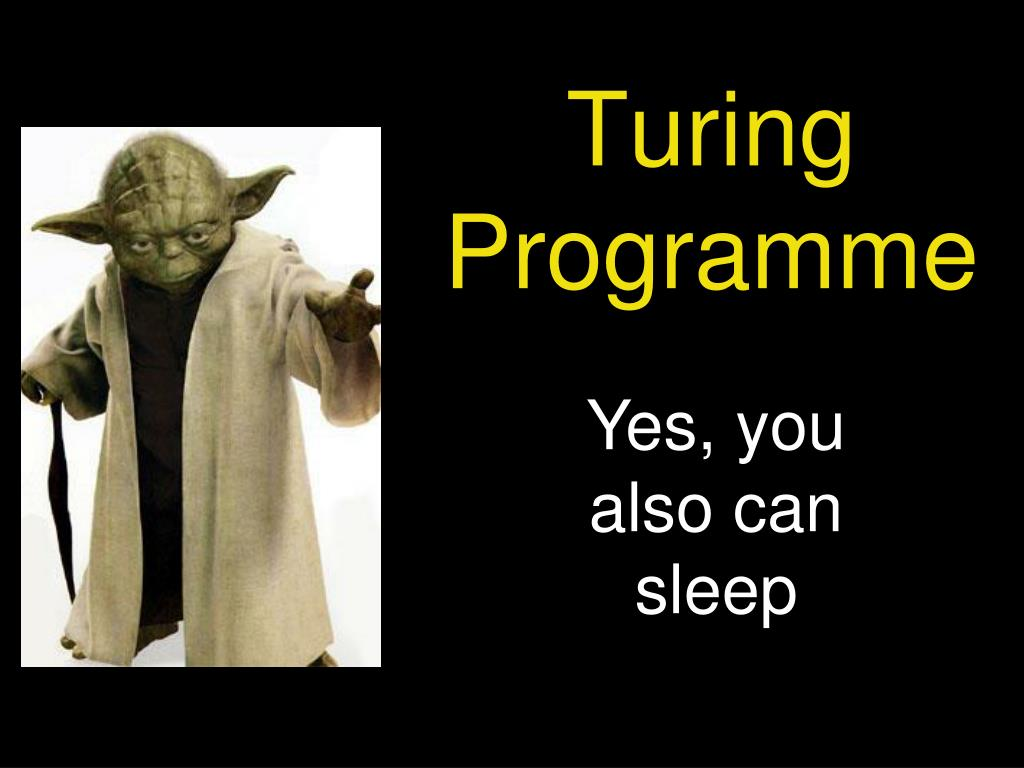 Turing Programme