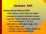 hardware ram