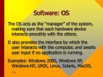 software os28