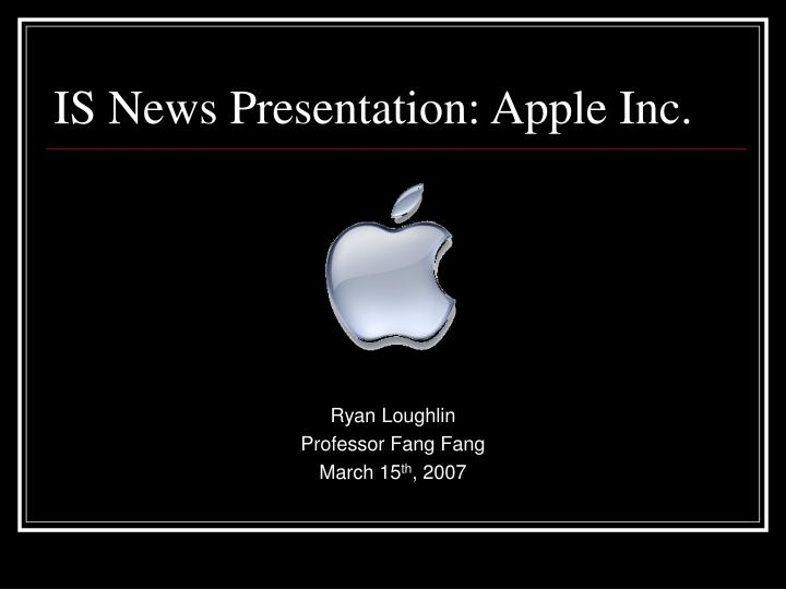 Ryan loughlin professor fang fang march 15 th 2007 l.jpg