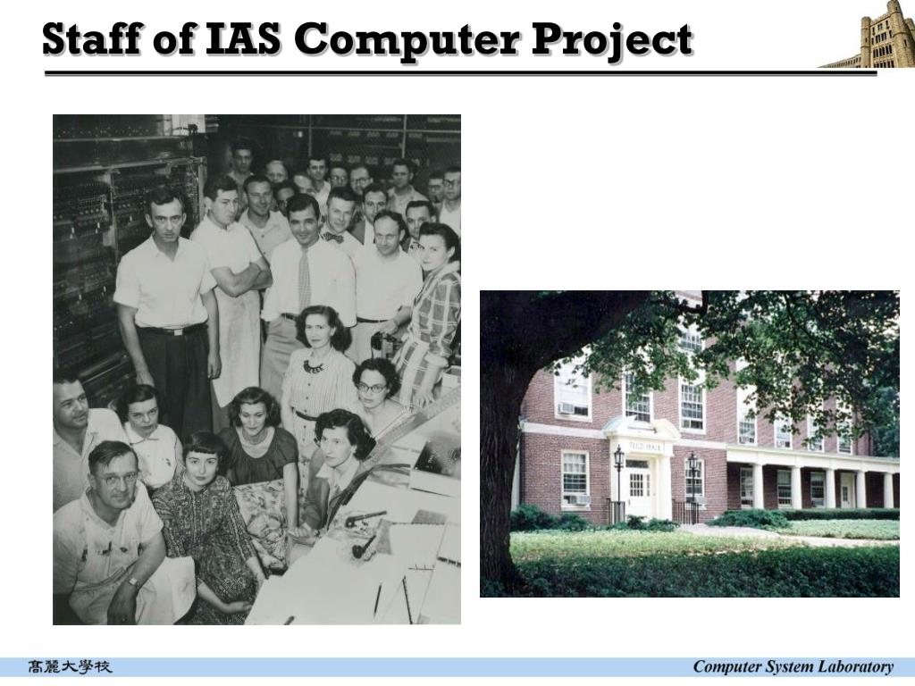 Staff of IAS Computer Project