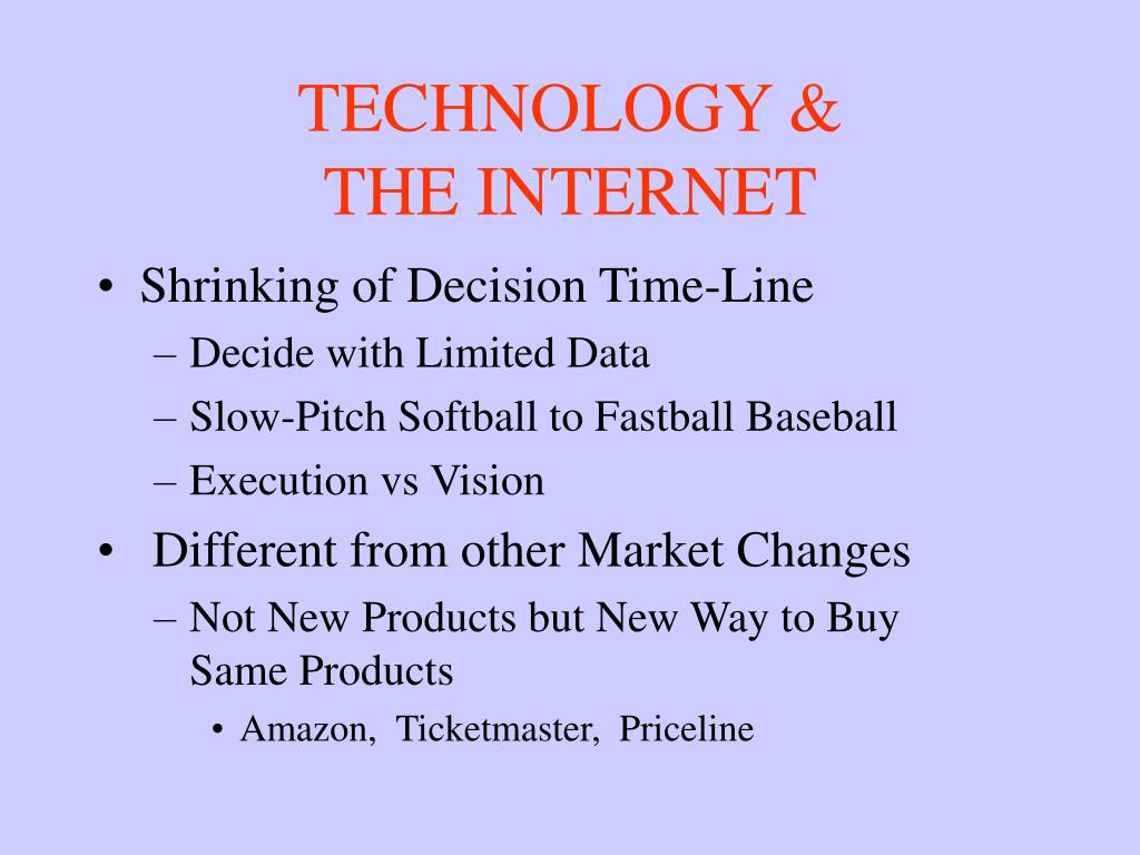 TECHNOLOGY &