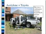 acetylene toyota