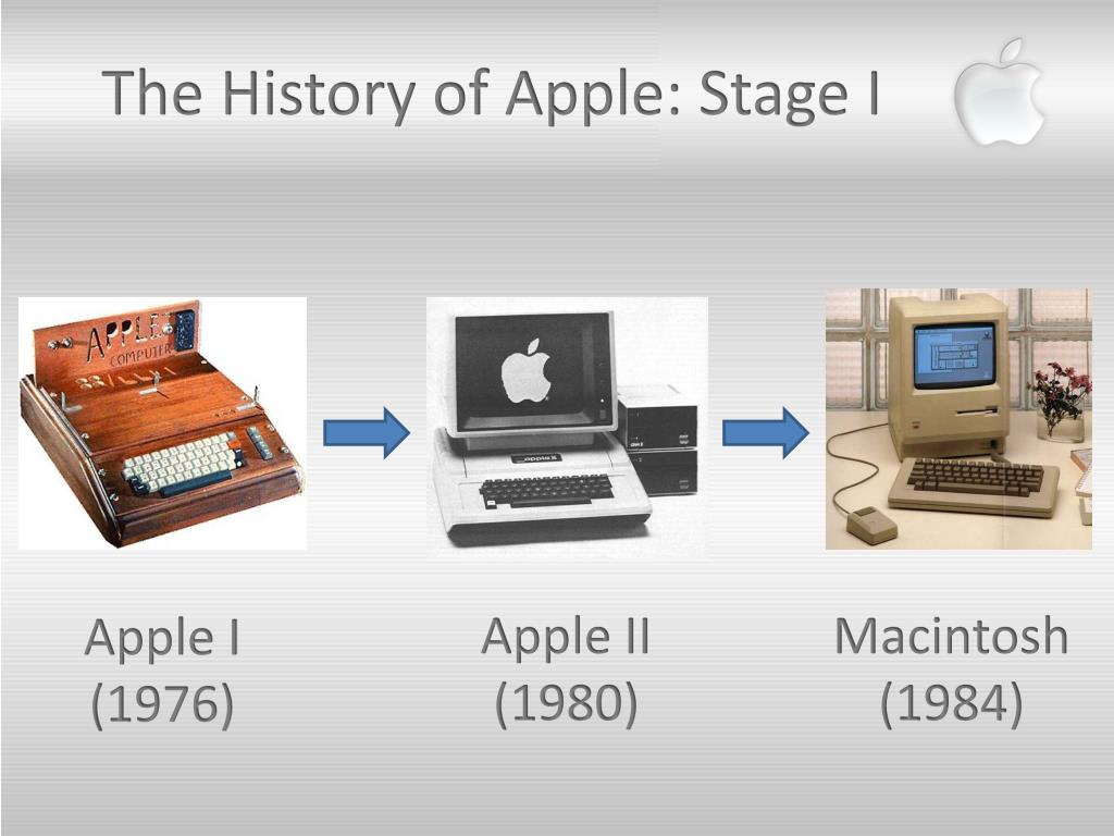 The History of Apple: Stage I