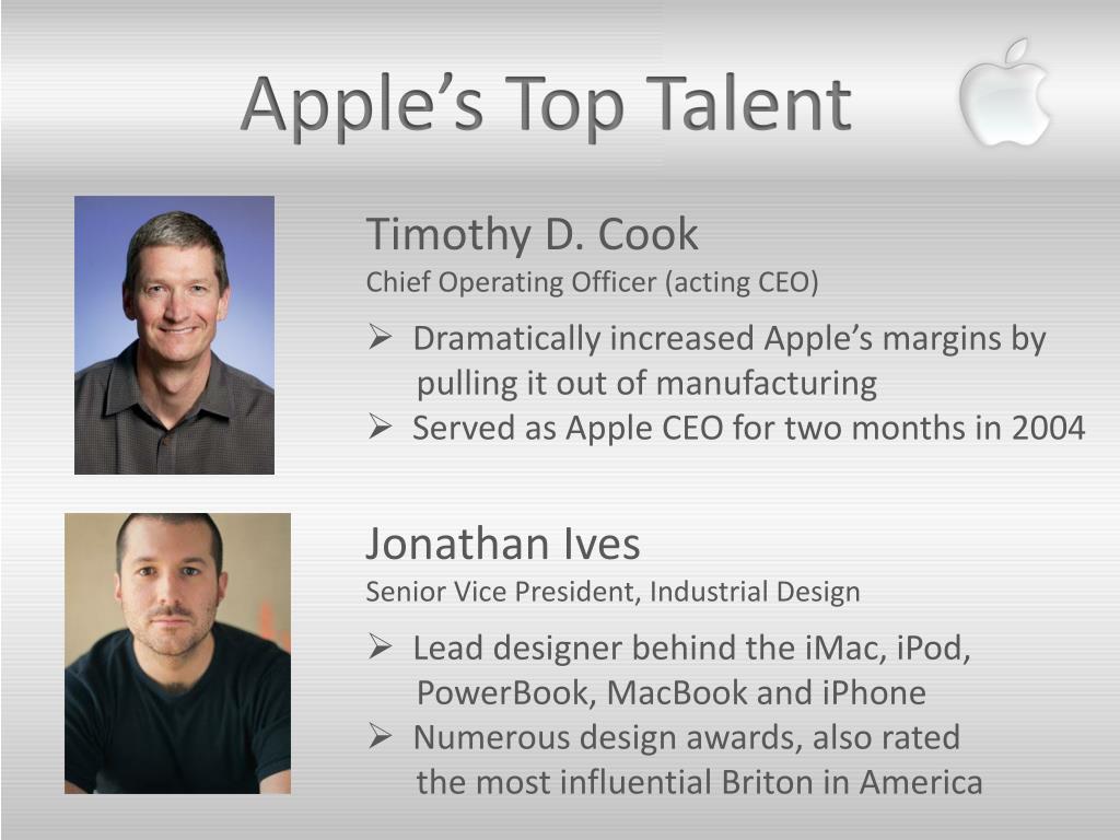 Apple's Top Talent