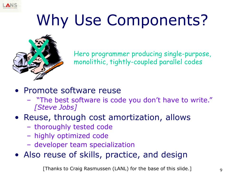 Why Use Components?