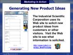 generating new product ideas