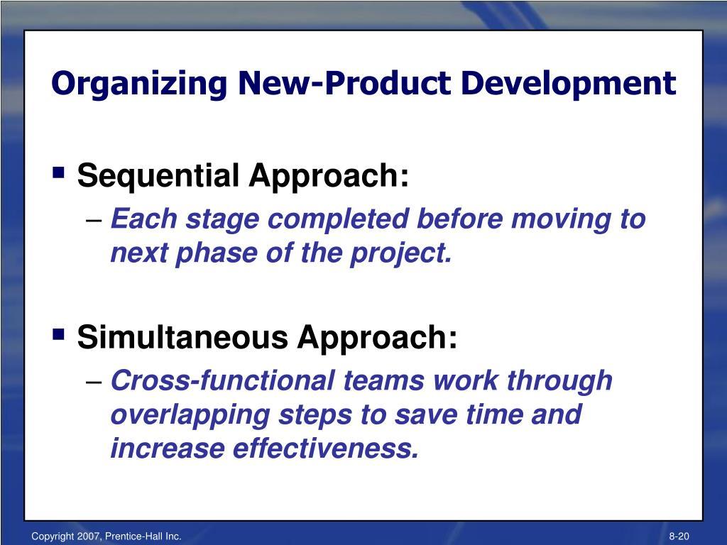 Organizing New-Product Development