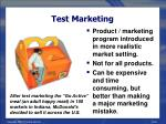 test marketing