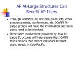 ap at large structures can benefit ap users