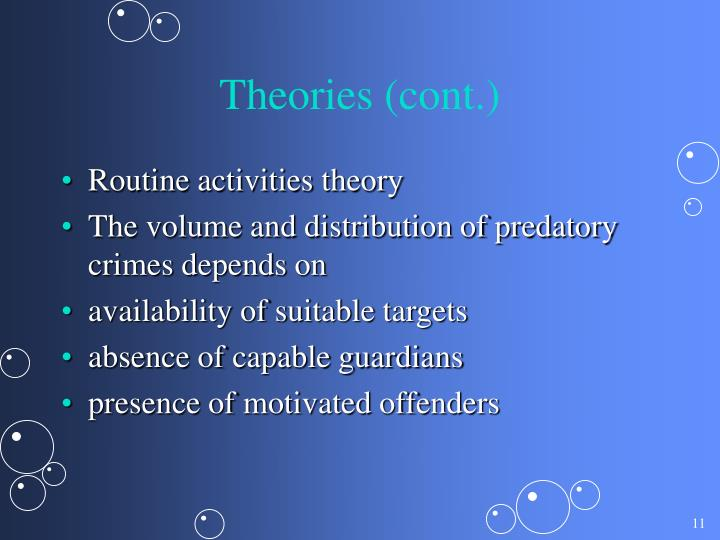 Theories (cont.)