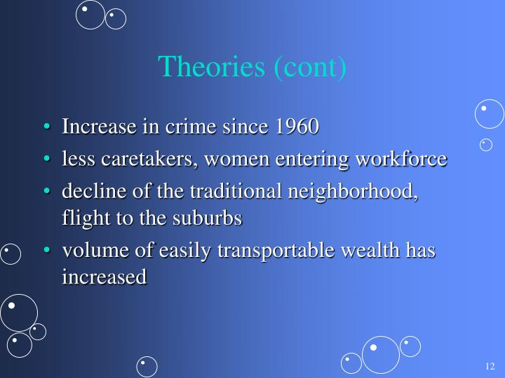 Theories (cont)