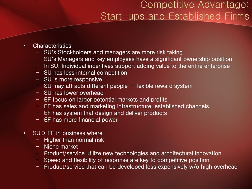 Competitive Advantage: