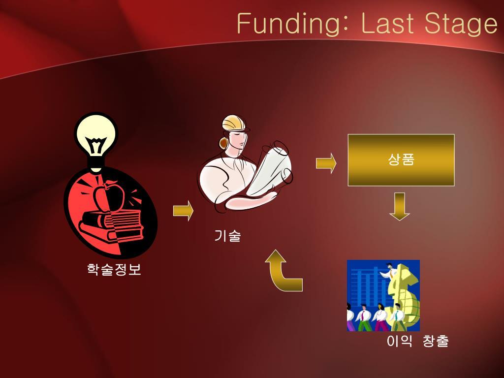Funding: Last Stage