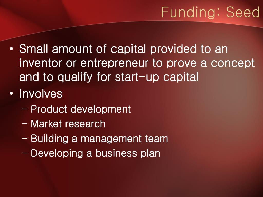 Funding: Seed