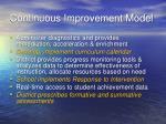 continuous improvement model1