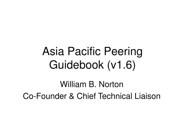 Asia pacific peering guidebook v1 6