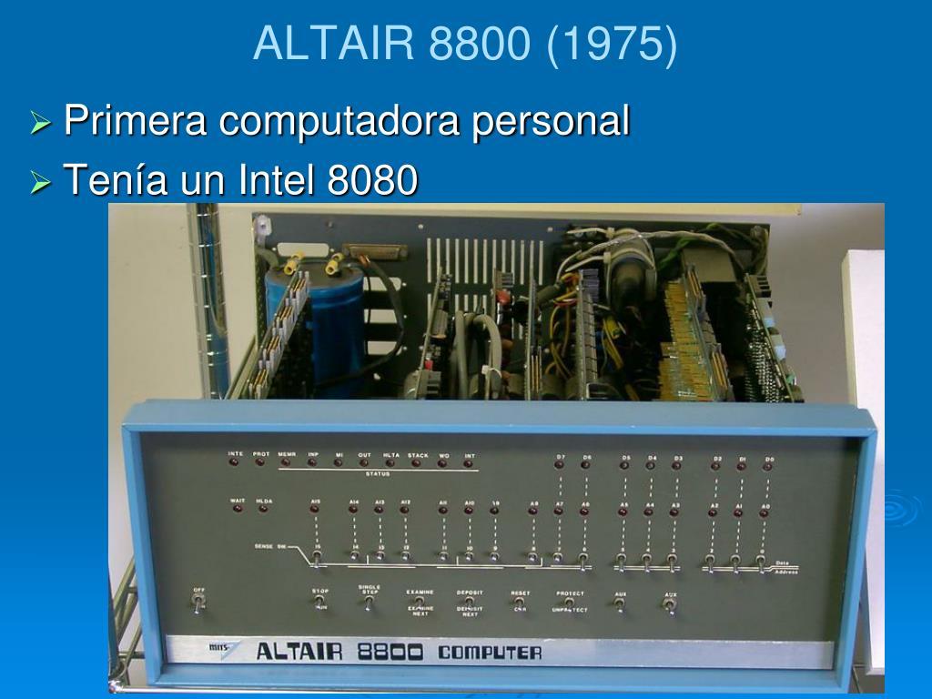 ALTAIR 8800 (1975)