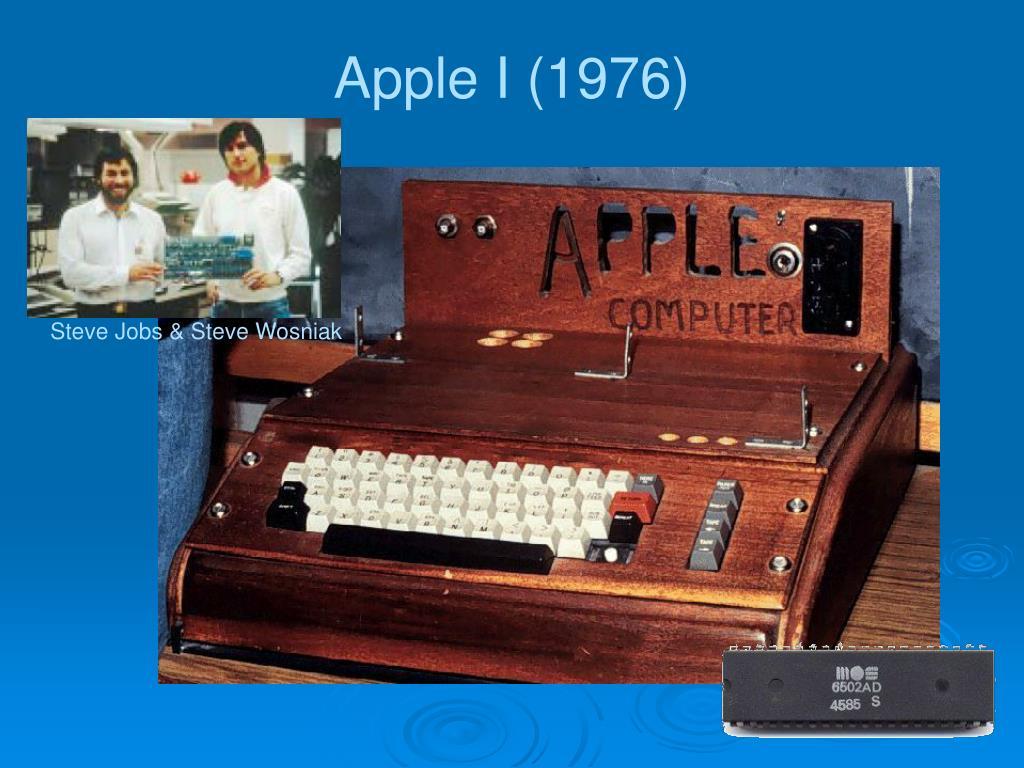 Apple I (1976)