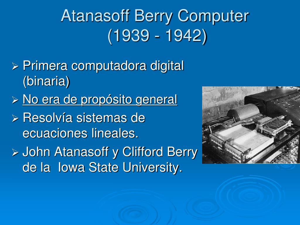 Primera computadora digital (binaria)