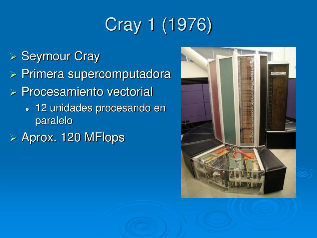 Cray 1 (1976)
