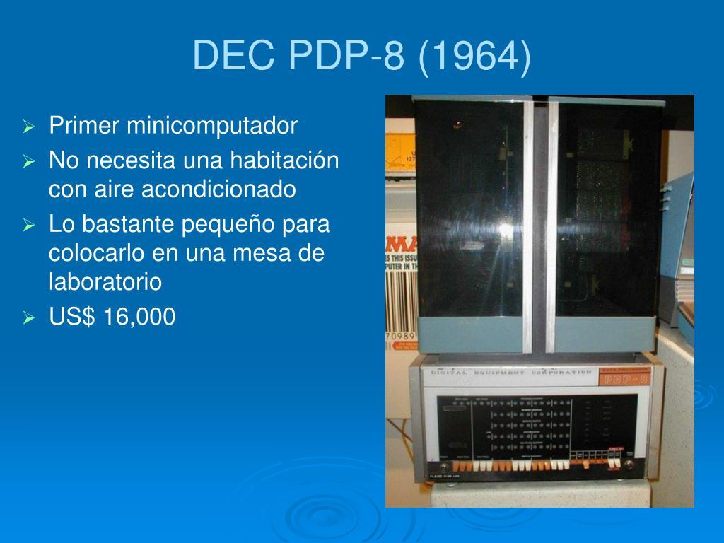 DEC PDP-8 (1964)
