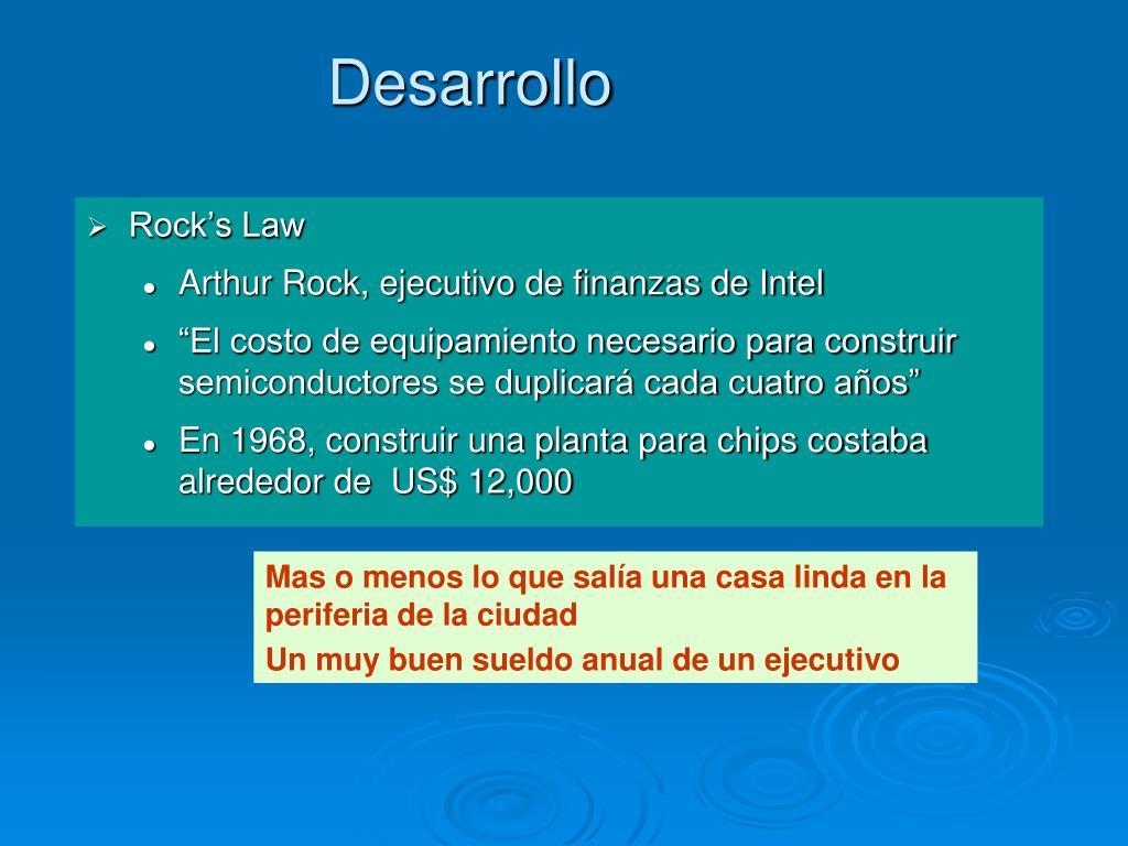 Rock's Law