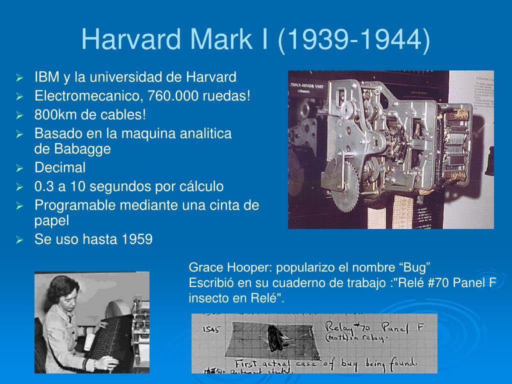 Harvard Mark I (1939-1944)