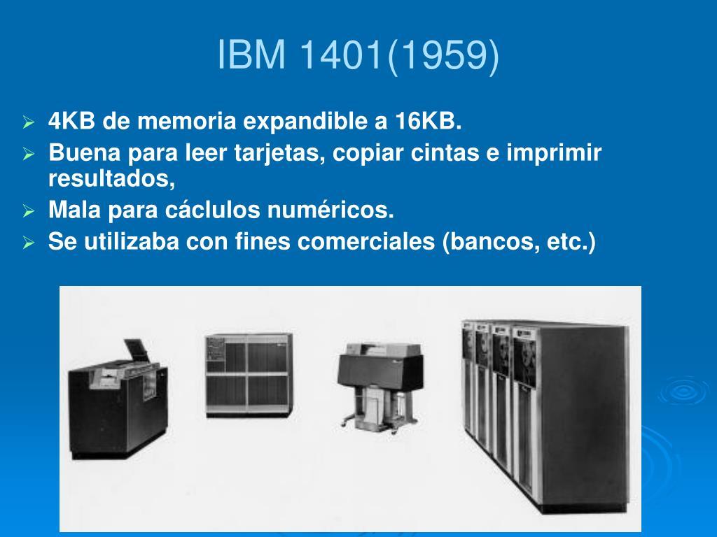 IBM 1401(1959)