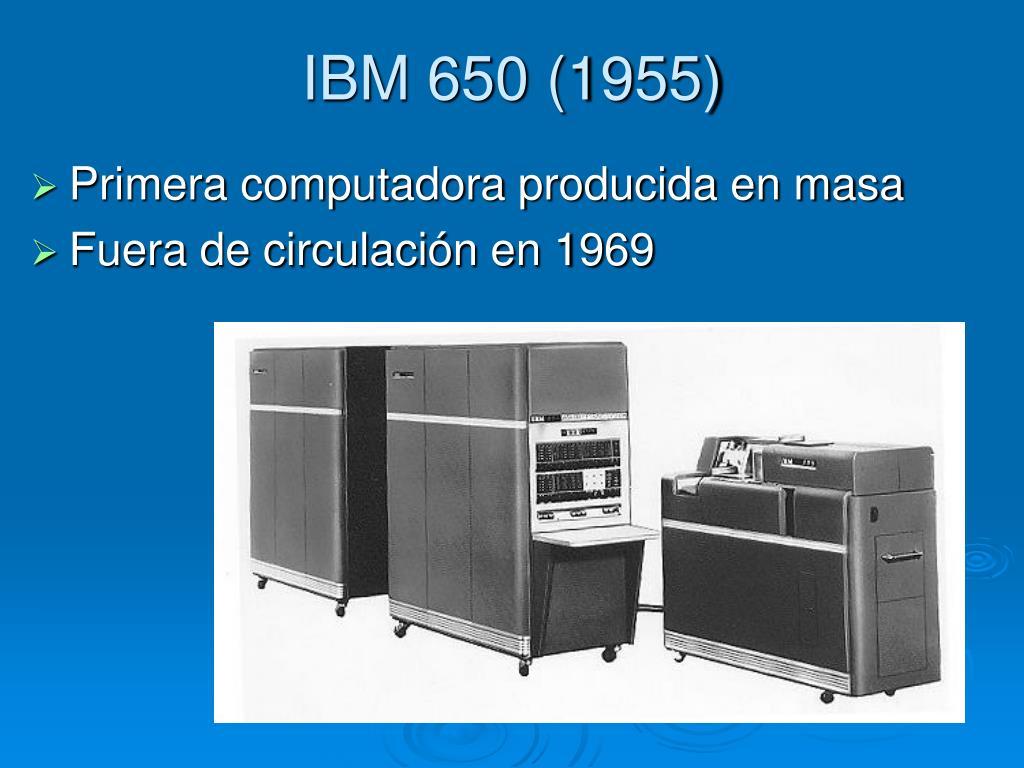 IBM 650 (1955)