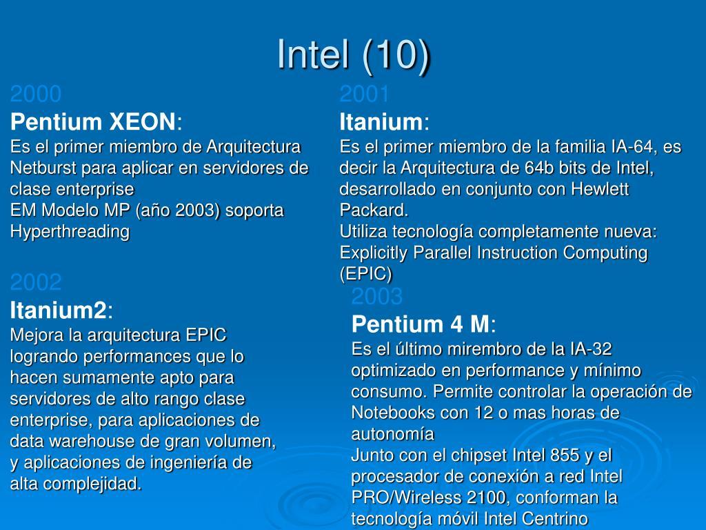 Intel (10)