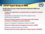 astap expert group on ngn