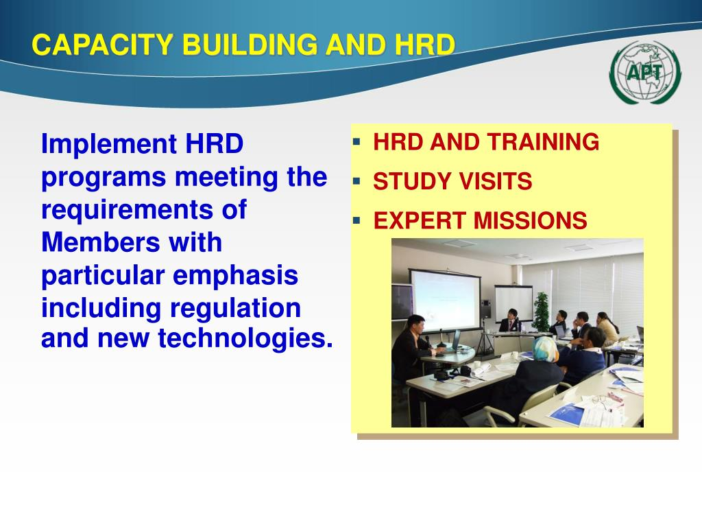 HRD AND TRAINING