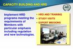 capacity building and hrd