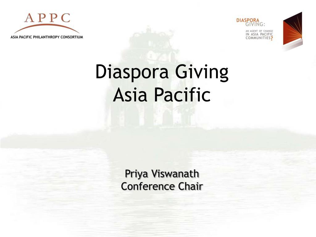 Diaspora Giving