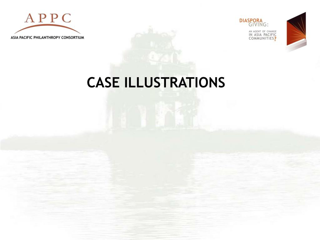 CASE ILLUSTRATIONS