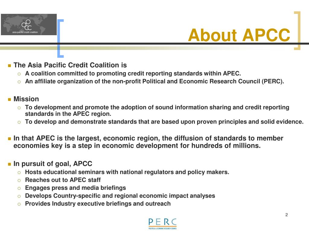 About APCC