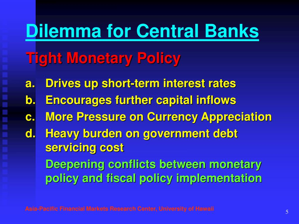 Dilemma for Central Banks